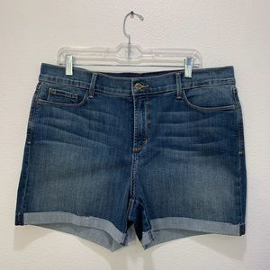 Not Your Daughter's Jeans cuffed Avery short